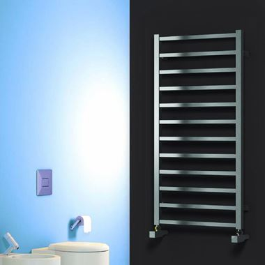 Reina Arden Stainless Steel Bathroom Heated Towel Rail Radiator